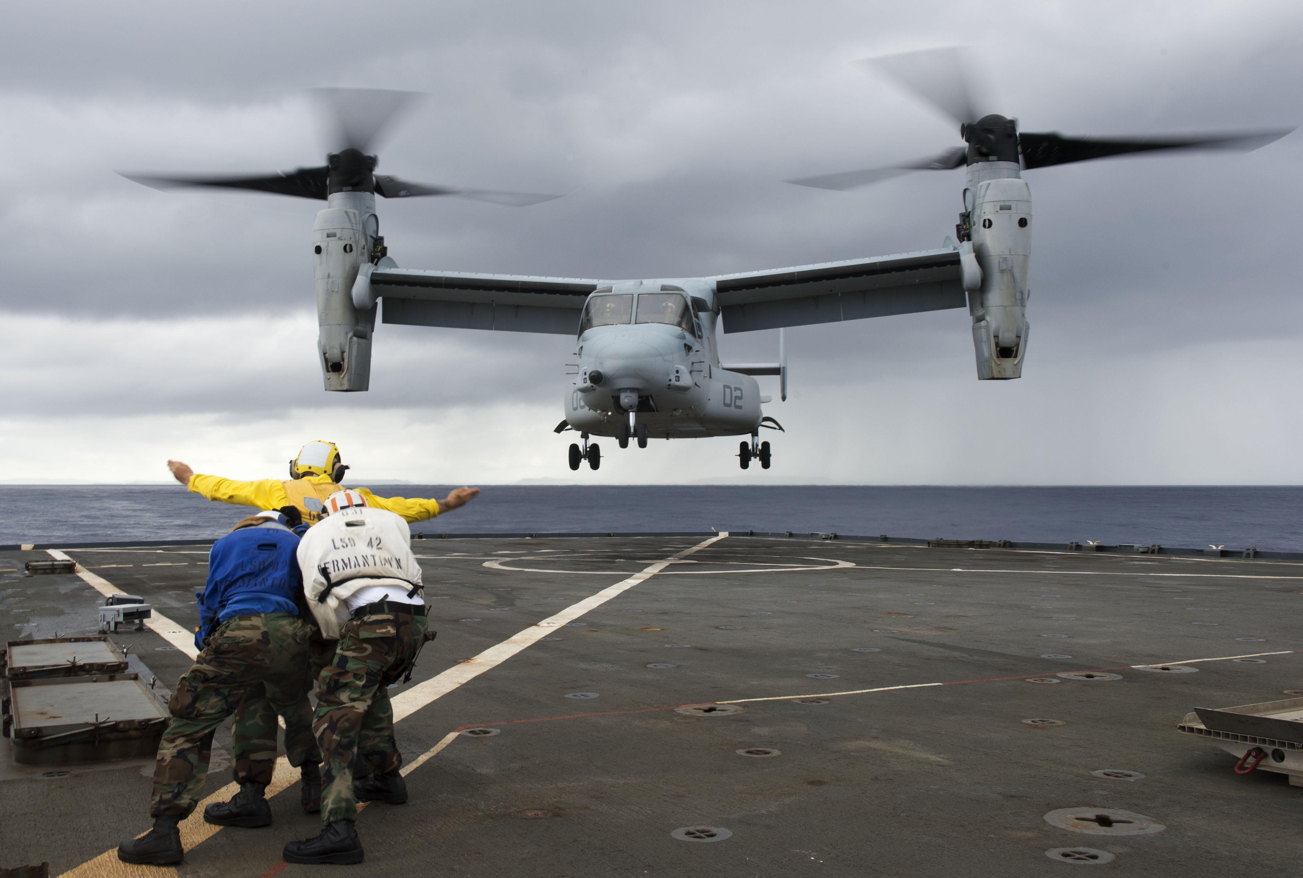 Report: V-22 Osprey to take over carrier deliveries