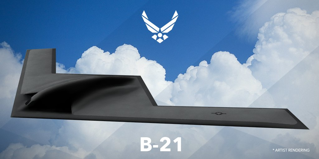 It's the Raider: Air Force unveils name of new B-21 bomber