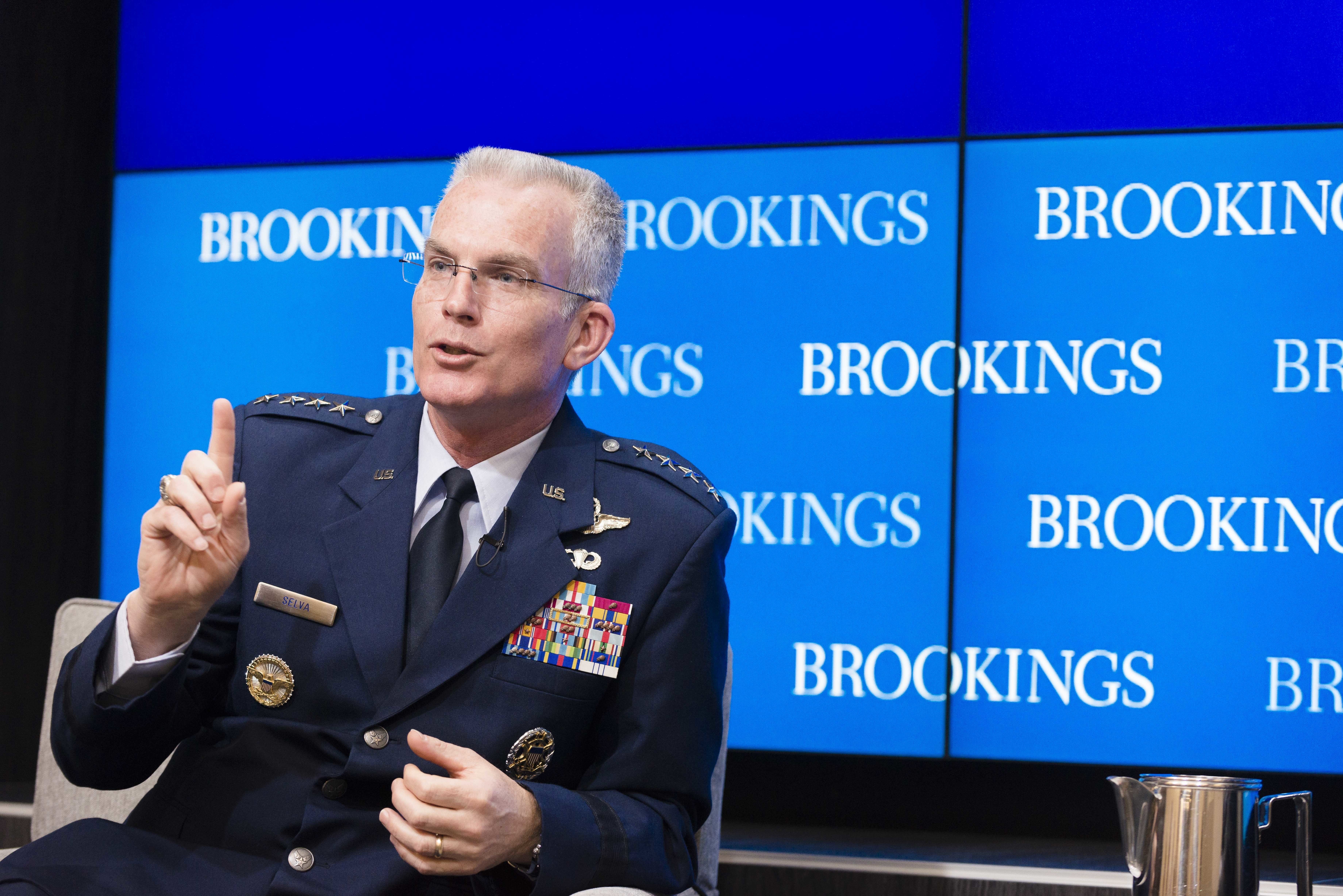 Space Corps could 'disrupt' DoD capabilities, warns Selva