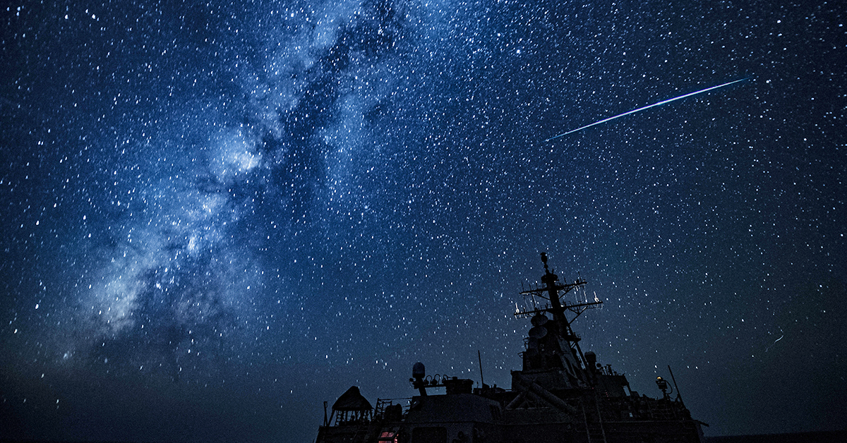 The Arleigh Burke-class guided-missile destroyer USS Carney (DDG 64) transits the Mediterranean Sea Sept. 4, 2018. Carney, forward-deployed to Rota, Spain, is on its fifth patrol in the U.S. 6th Fleet area of operations in support of regional allies and partners as well as U.S. national security interests in Europe and Africa. (MC1 Ryan U. Kledzik/Navy)