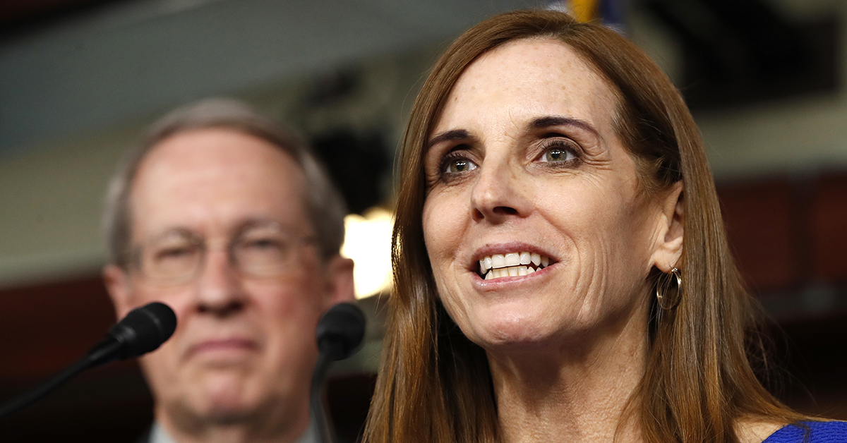 Air force vet McSally, running for Senate, tells GOP to 'grow a pair of ovaries'