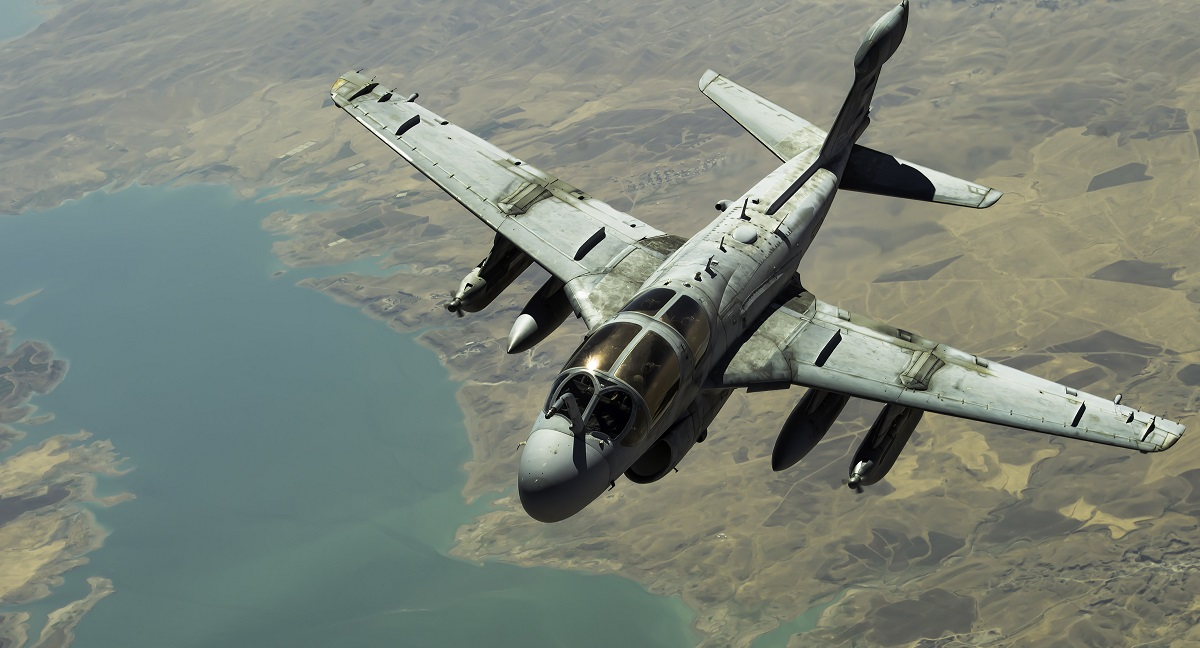 The Corps is down to one final EA-6B Prowler squadron