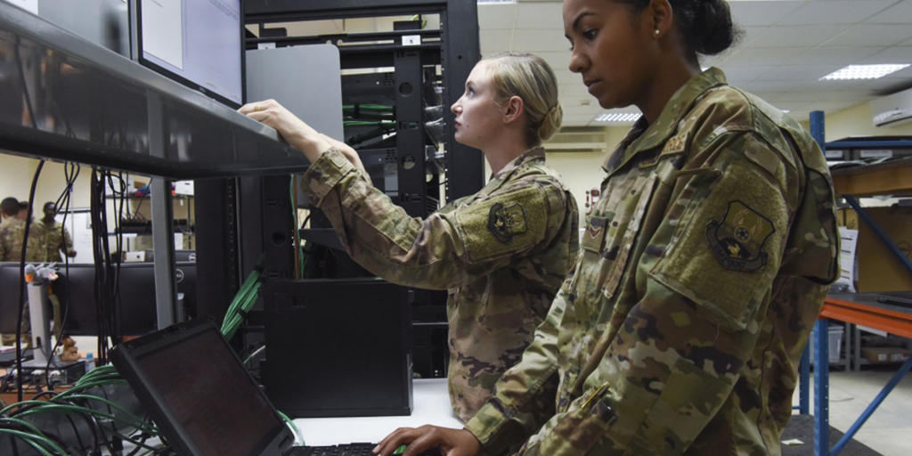 The Air Force awarded a $66 million compute and store OTA. (Courtesy DVIDS)