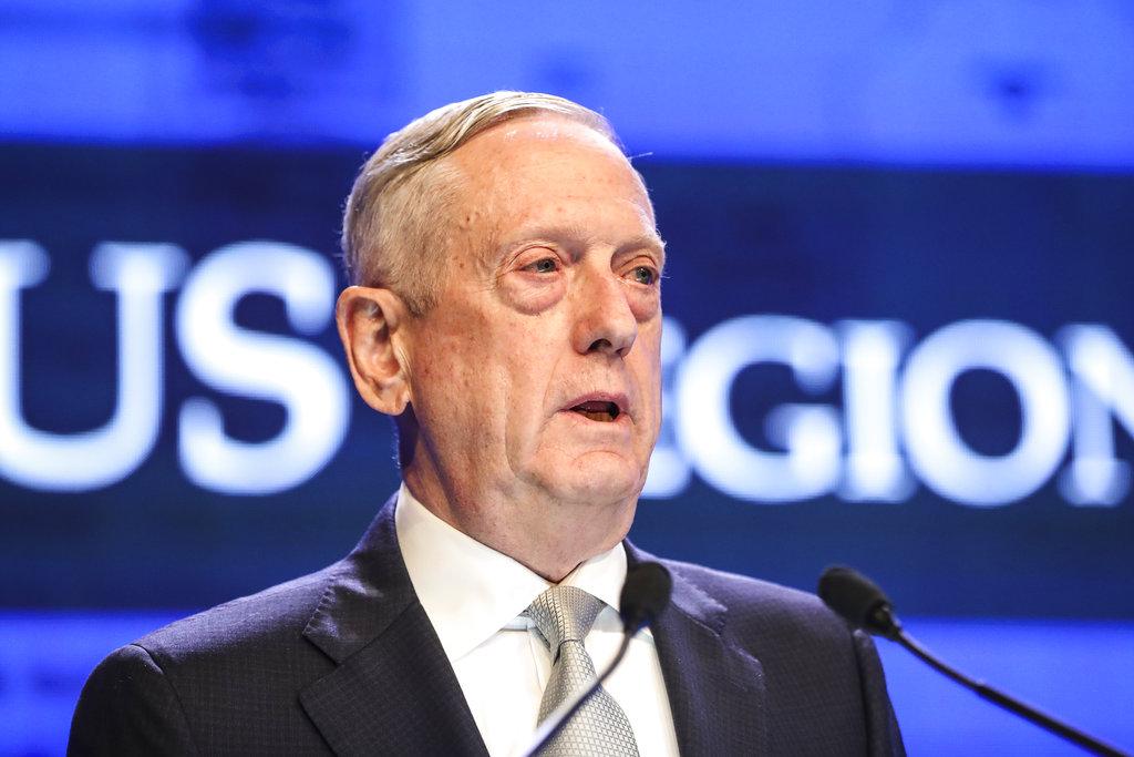 At security forum, Mattis warns China over 'militarization' of South China Sea