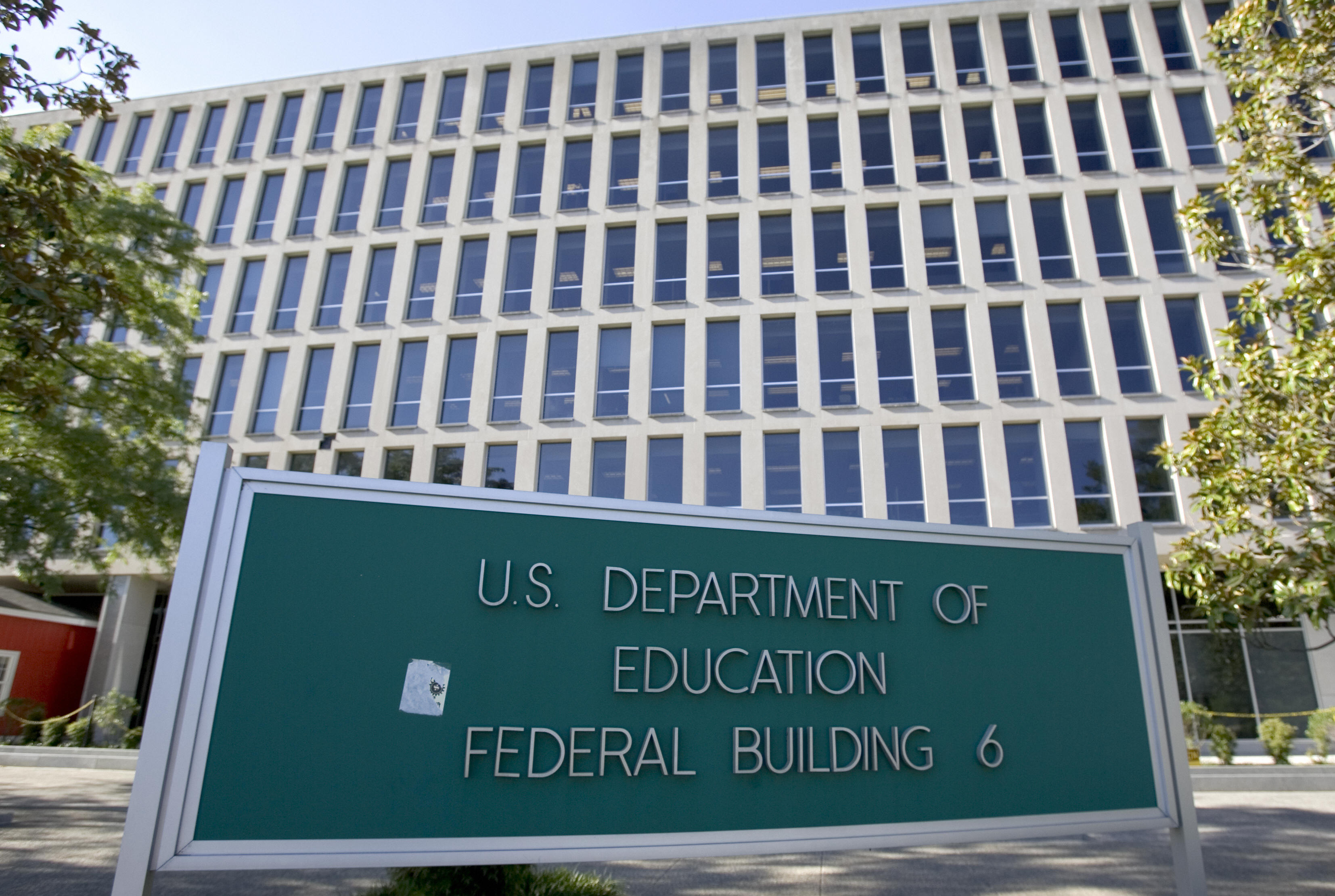 On Sept. 20, 2017, leaders of veteran and military service organizations sent the latest in a series of letters to the U.S. Department of Education stating opposition to any efforts to water down, delay or eliminate regulations that protect students from predatory institutional practices targeting military students. (Photo credit: Saul Loeb/AFP/Getty Images)