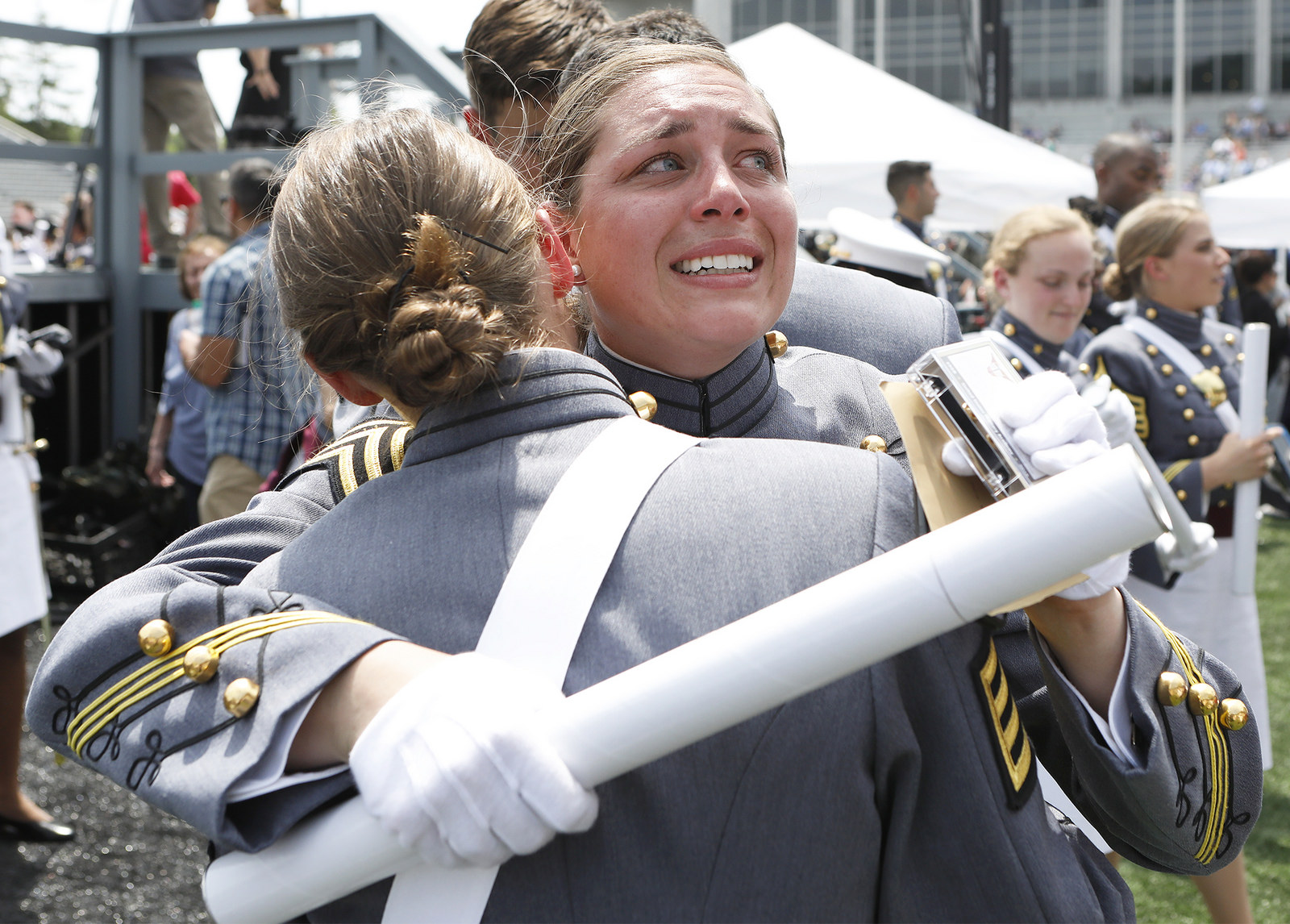 The U.S. Military Academy at West Point held its graduation and commissioning ceremony for the Class of 2018 at Michie Stadium in West Point, N.Y., May 26, 2018. (U.S. Military Academy)