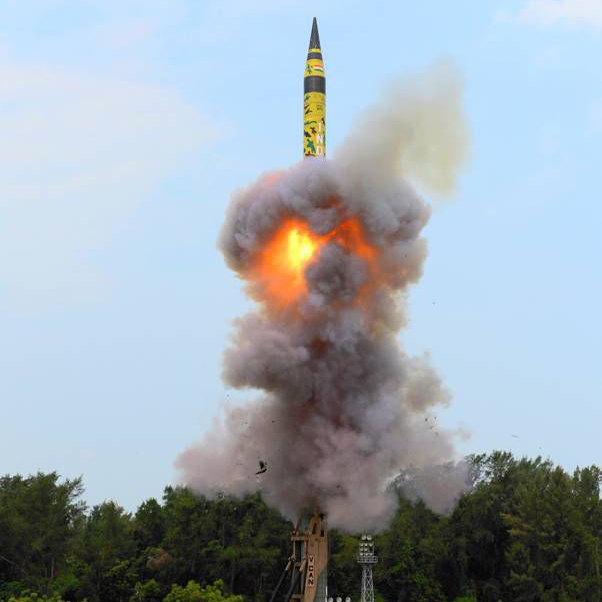 What tech was used in India's nuclear-capable ICBM test launch?