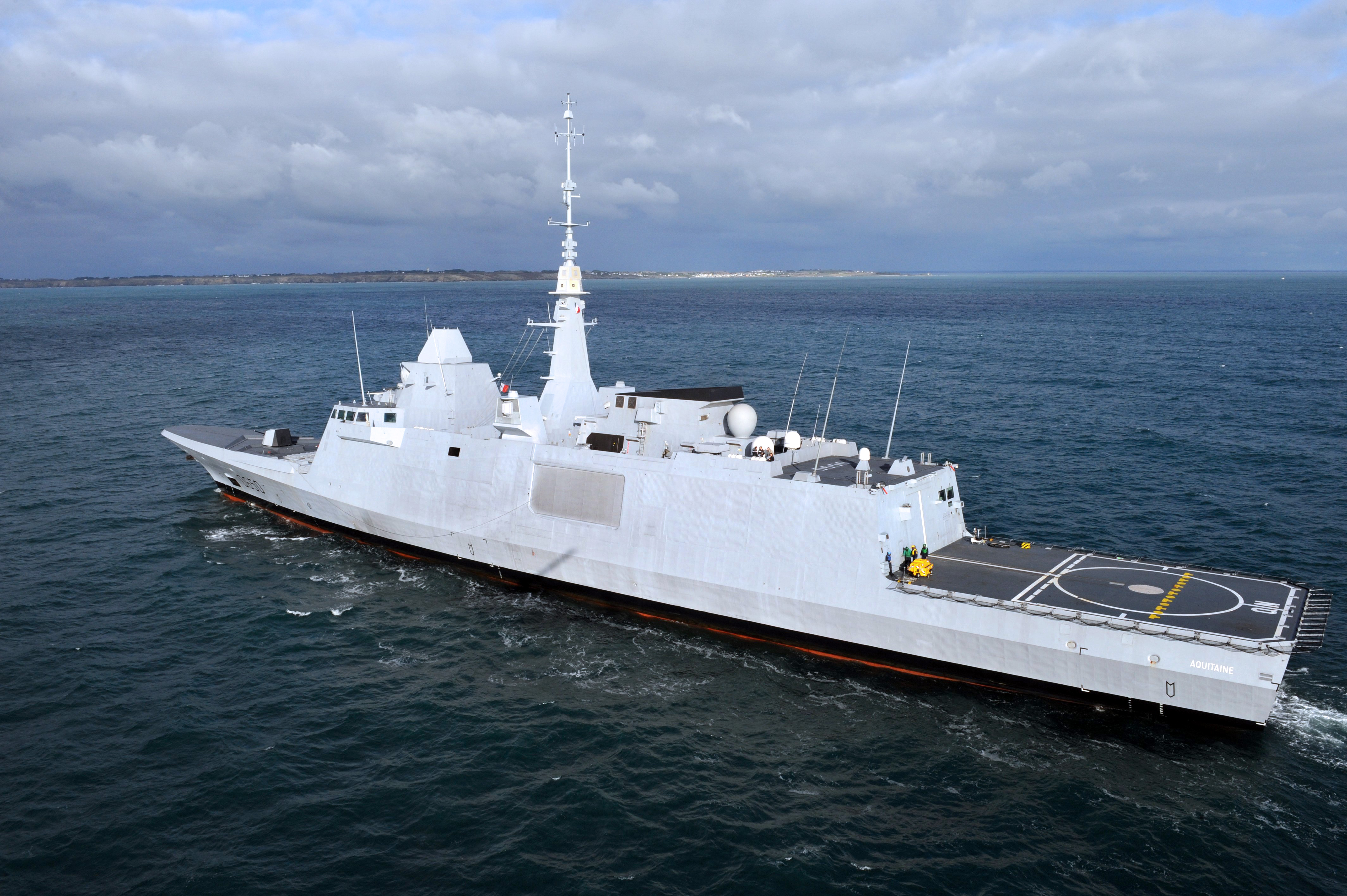 'Naval Airbus' progress: Italian-French frigate pitch for Canada moves forward