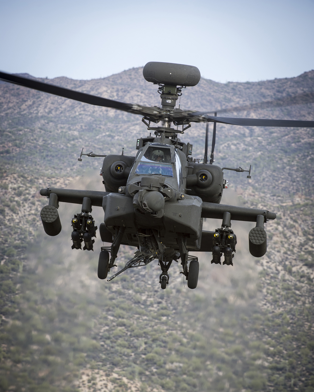 UK Announces P-8, Apache Buys