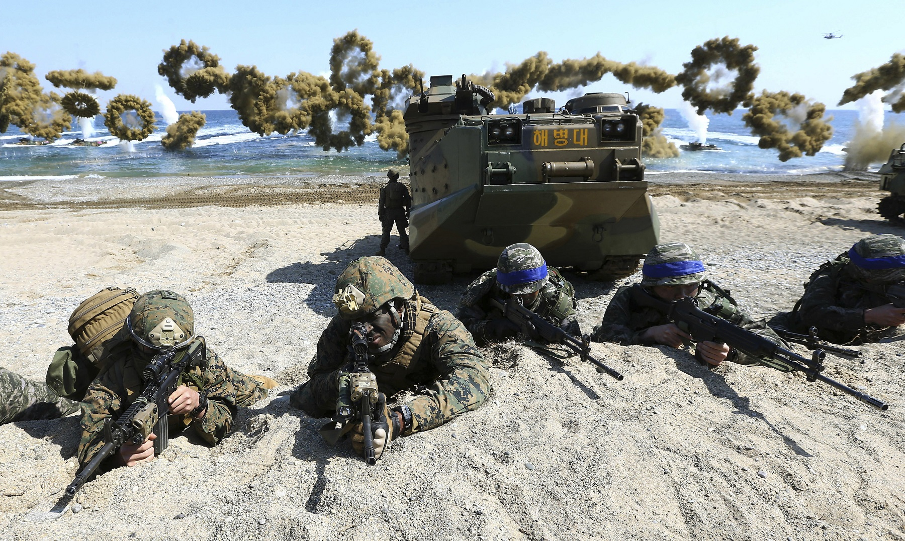 Troops see need for more forces in Korea, eastern Europe