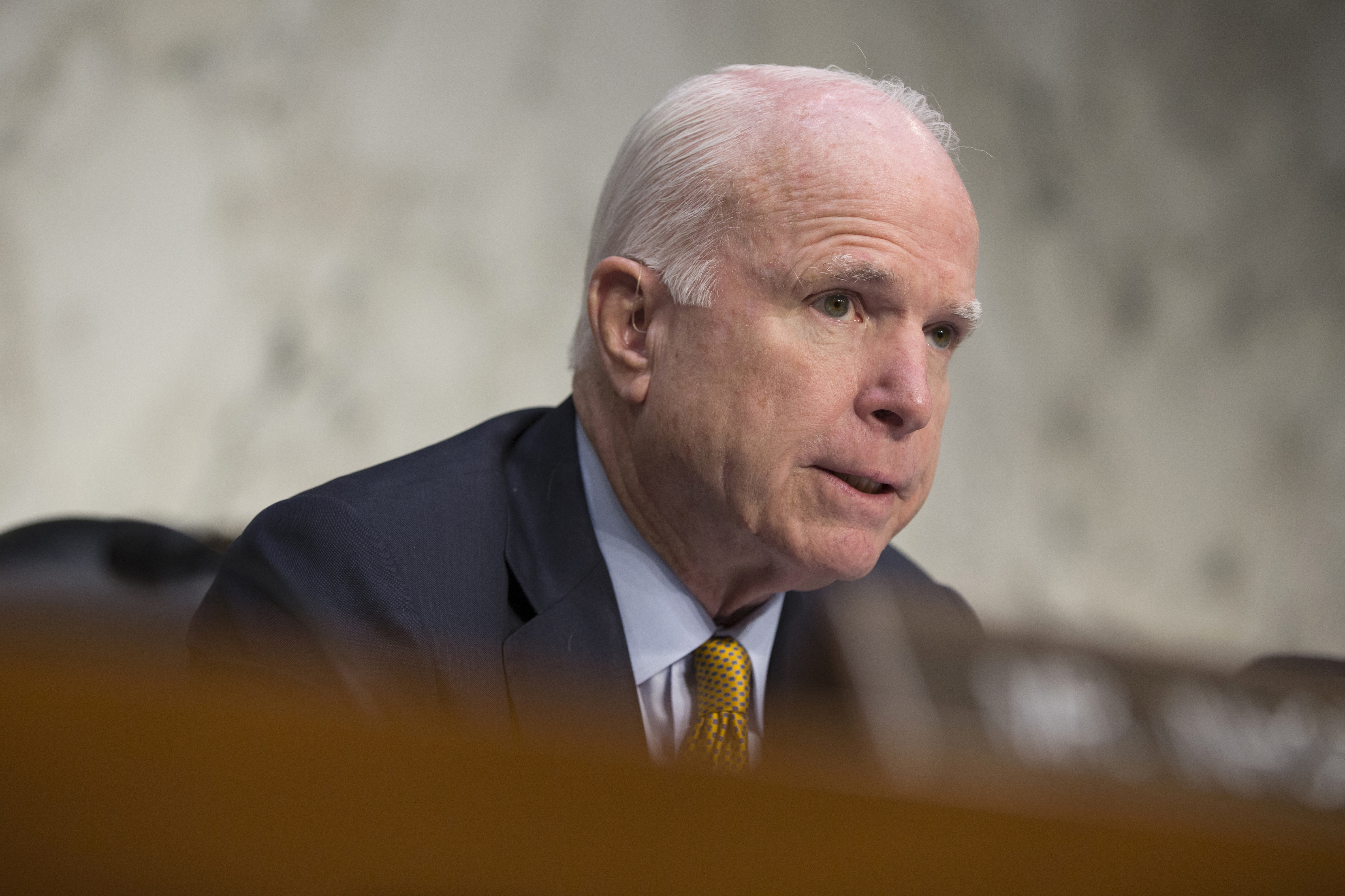 McCain: Military personnel's 100-hour work weeks must stop