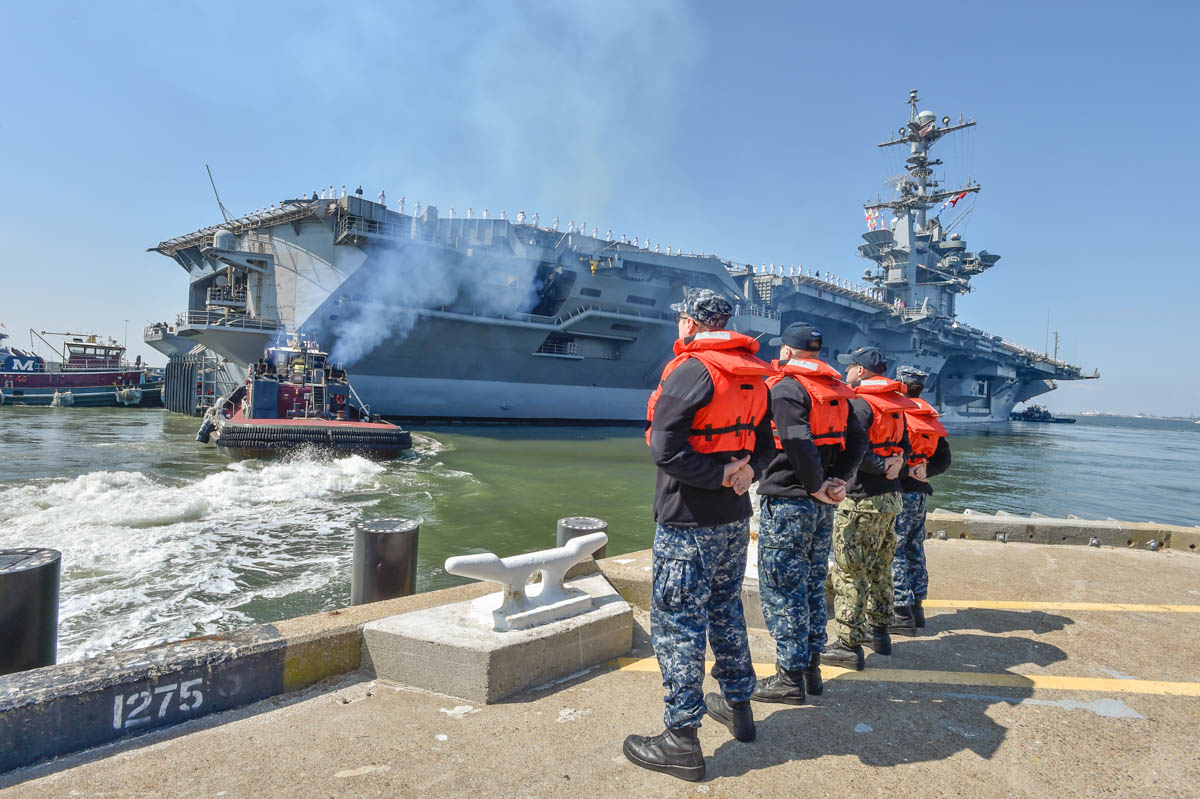 Truman Strike Group departs Norfolk, destined for 5th and 6th Fleets