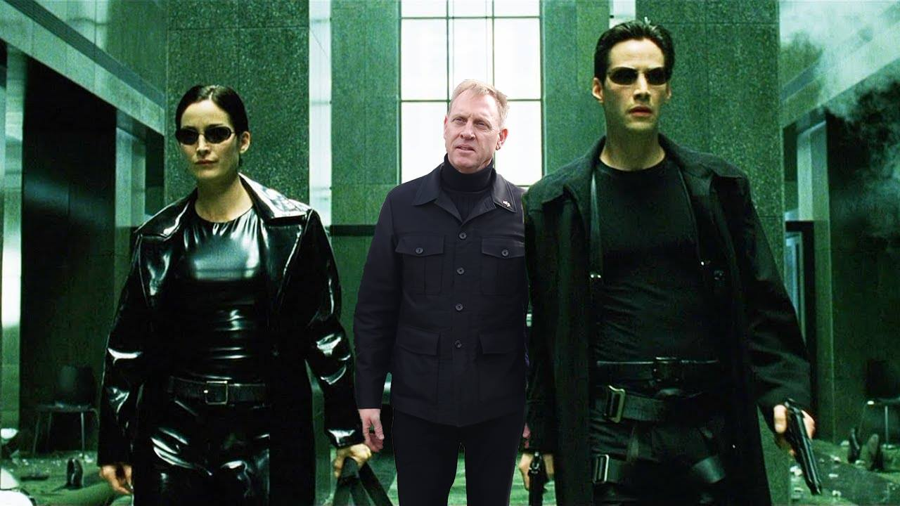 Acting Defense Secretary Patrick Shanahan made an unannounced visit to Afghanistan, and in doing so, joined a pantheon of all-black and turtleneck-wearing fashionistas. (The Matrix, 1999)