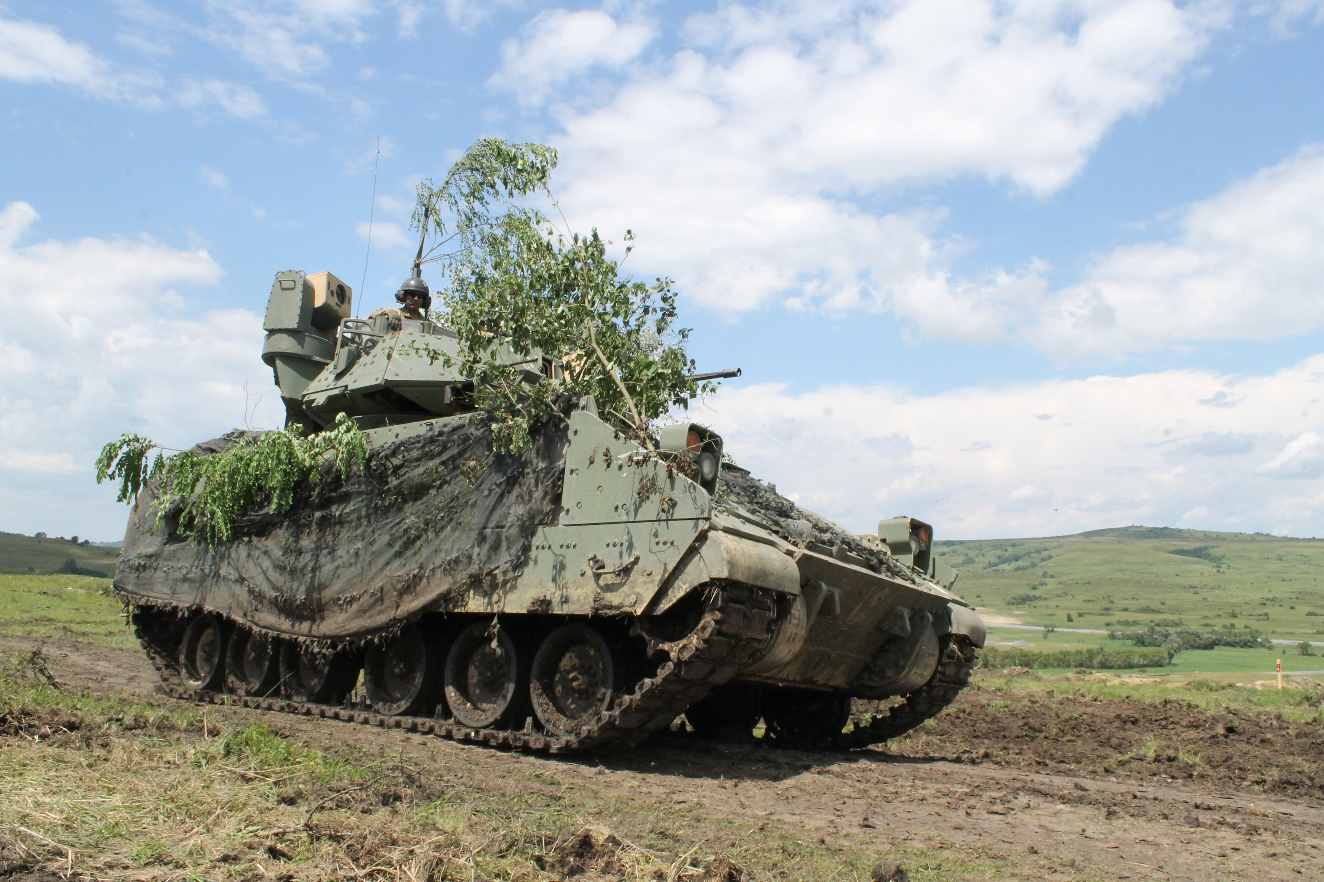 US Army's first heavy brigade rotation in Europe learns newfound agility