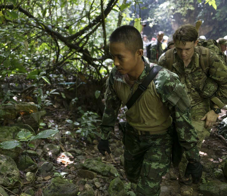 US airmen assisting with rescue of stranded Thai soccer team