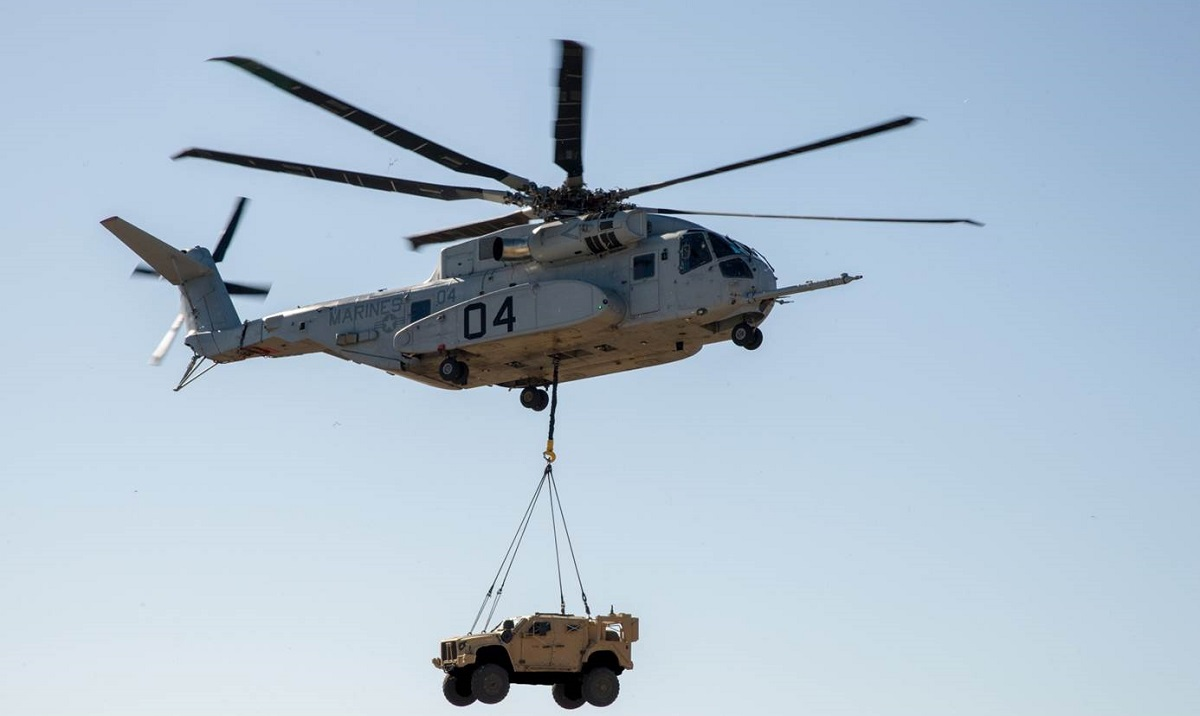 The Corps will take first delivery of 'most powerful helicopter in the Defense Department' in May
