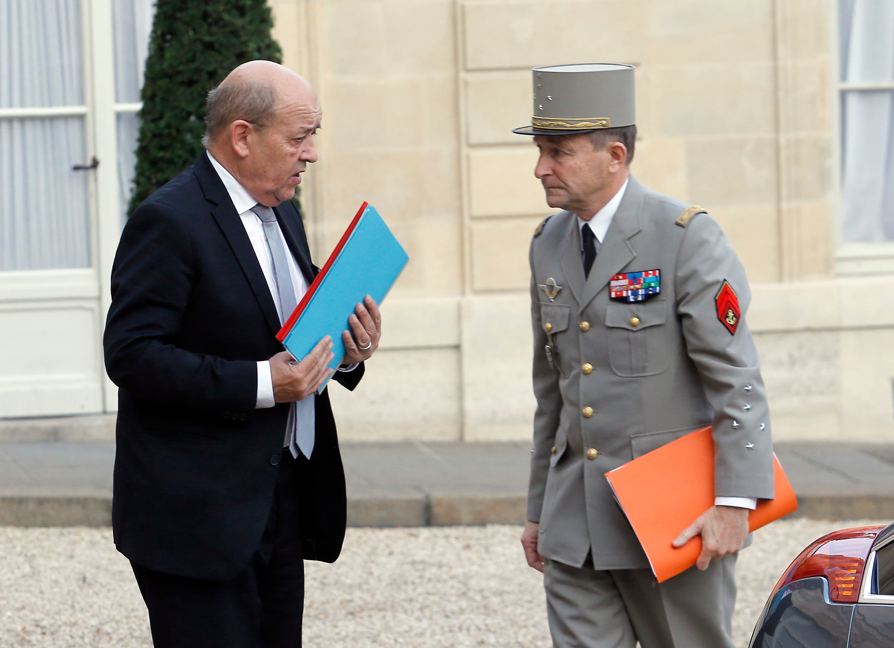 France would reach NATO budget target under top military officer's plan