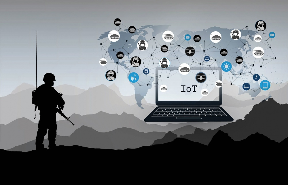 The scale of information from connected information points is upping the need for IT teams to support war fighters. (U.S. Army illustration)
