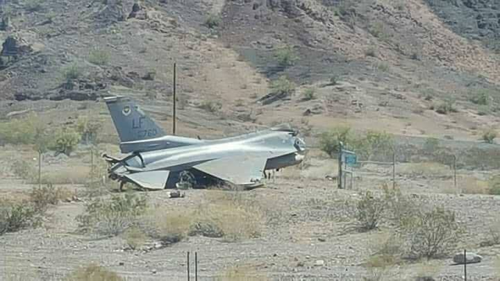 F-16 from Luke Air Force Base crashes