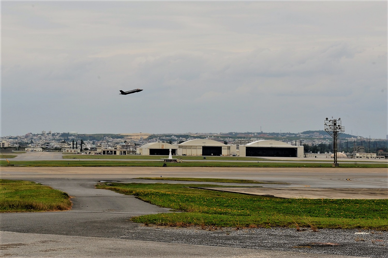 F-35 loses aircraft panel during training flight near Okinawa