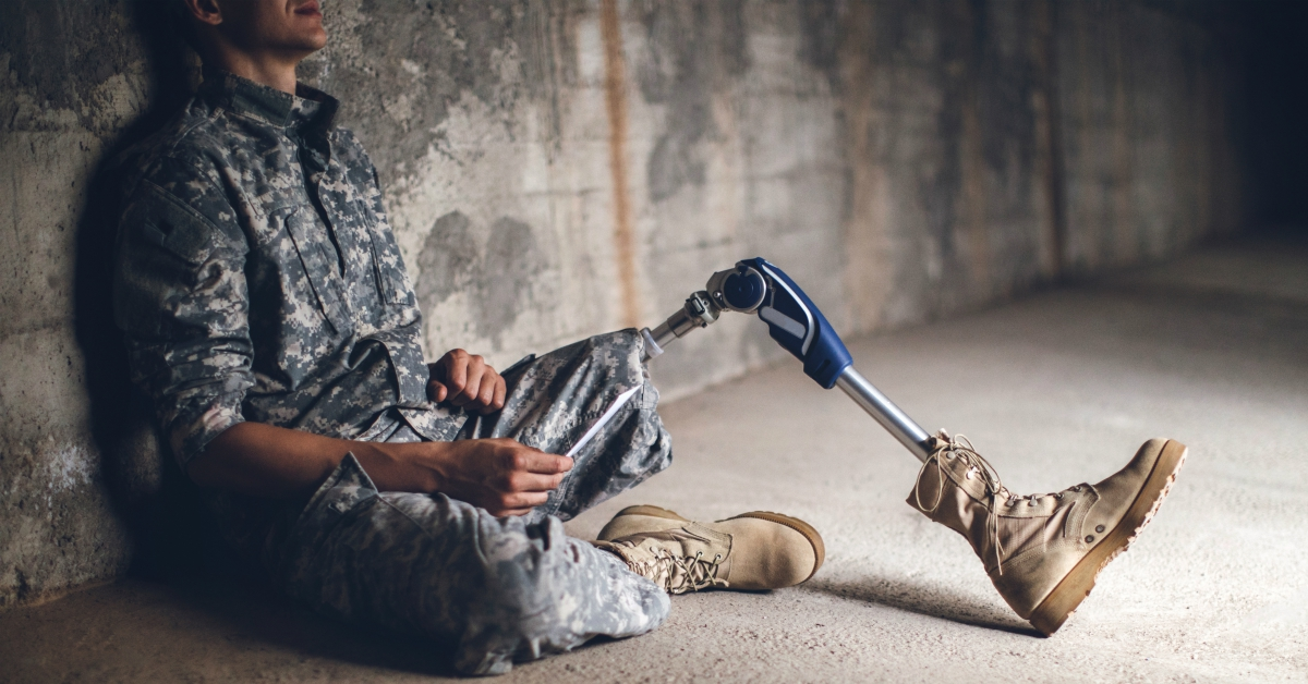 Bankrupt vets can lose their disability benefits  This new