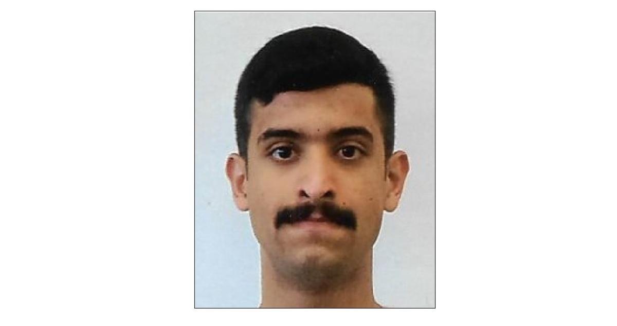 Saudi gunman Mohammed Alshamrani, 21. (FBI)