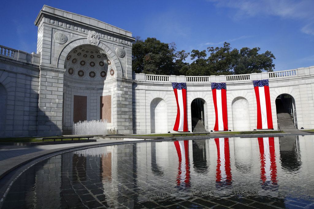 National memorial to female vets marks its 20th anniversary