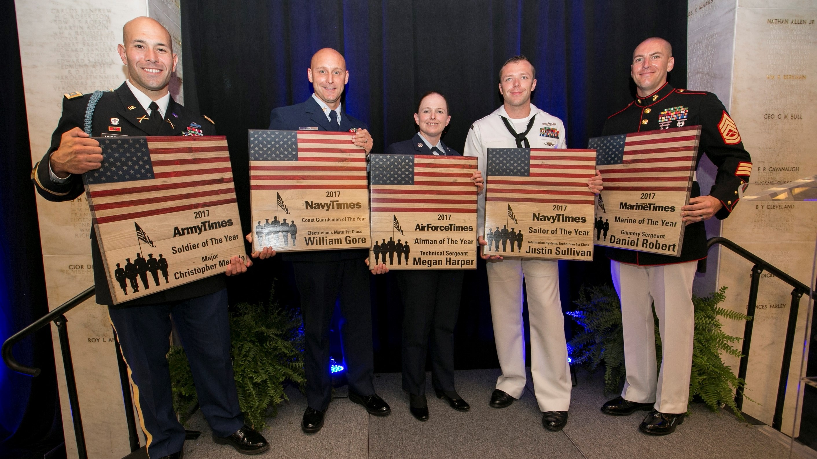 Military Times Service Members of the Year honored at Capitol Hill ceremony