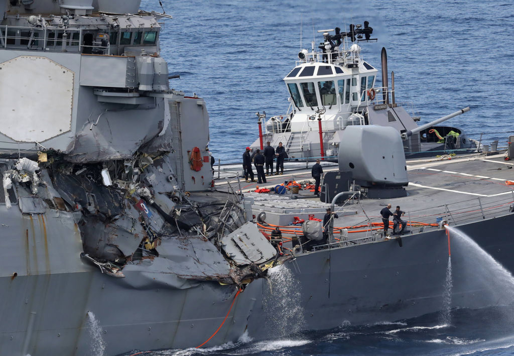 New evidence of dismal readiness among Navy's Japan-based ships