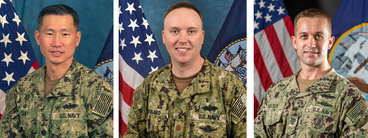 Seabee command triad fired after XO found strolling naked in woods