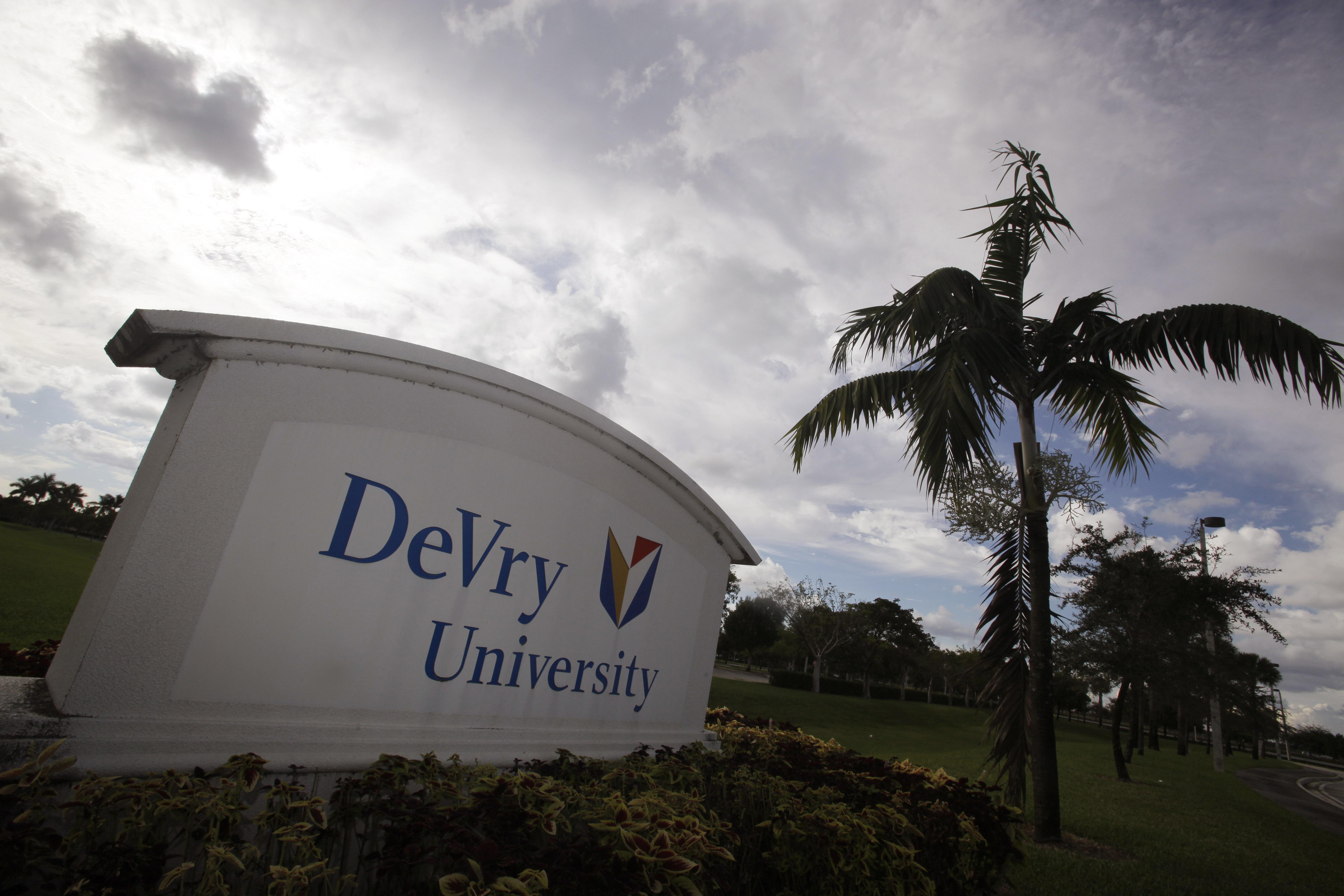 VA reprimands DeVry University based on federal lawsuit, GI