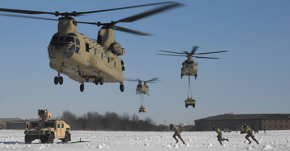 Some (rare) good news for military aviation: Army helicopter accidents on the decline