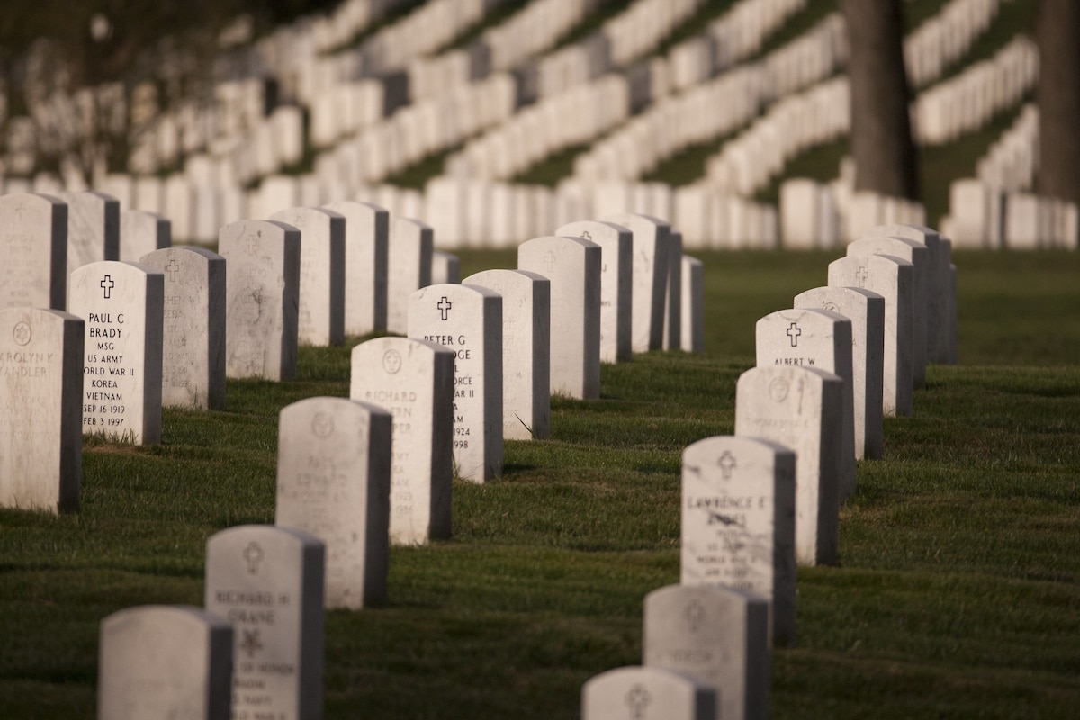 Hundreds join landscaping event to help arlington cemetery for Landscaping help