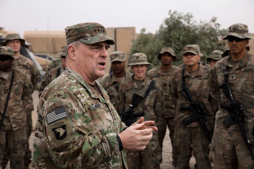 Army chief: Future of US troops in Iraq TBD as ISIS crumbles