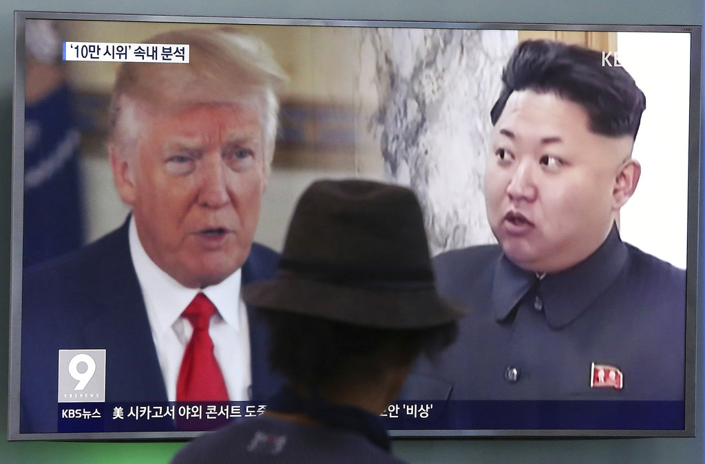 Trump to meet North Korea leader Kim Jong Un by May, South Korea official says