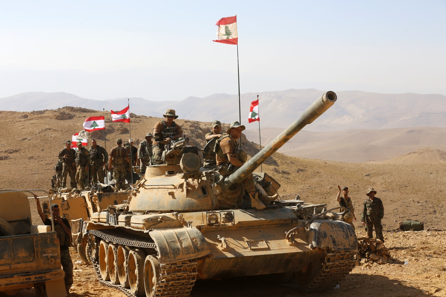 After deal, ISIS allowed to leave Syria-Lebanon border area