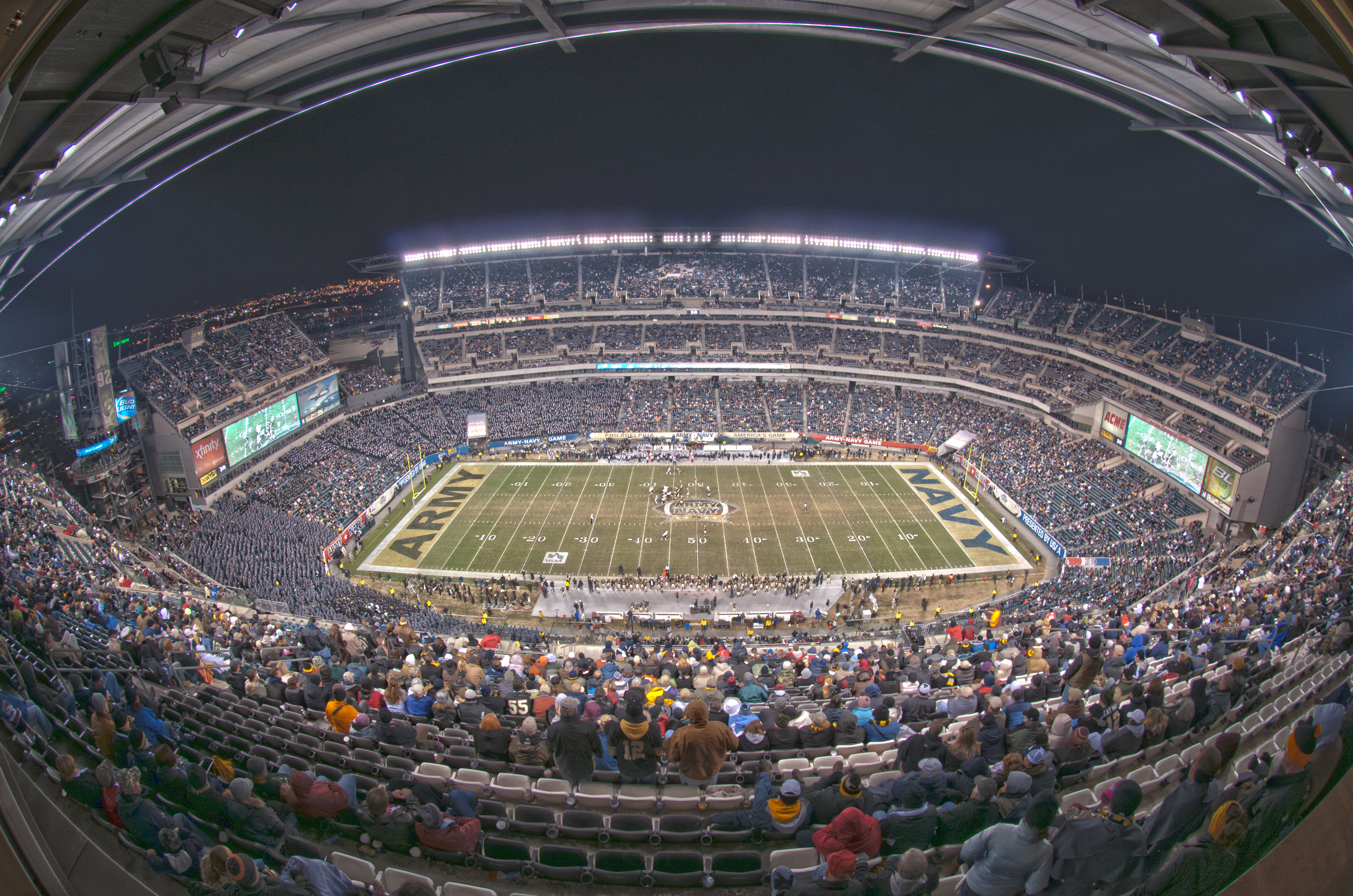 Philadelphia's Lincoln Financial Field will host Army-Navy showdowns in 2017, 2018, 2019, 2020 and 2022. (Staff/file)