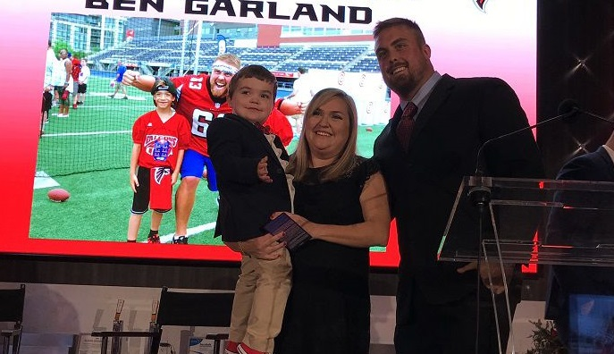 Super Bowl surprise for fallen airman's family thanks to Falcons' Garland