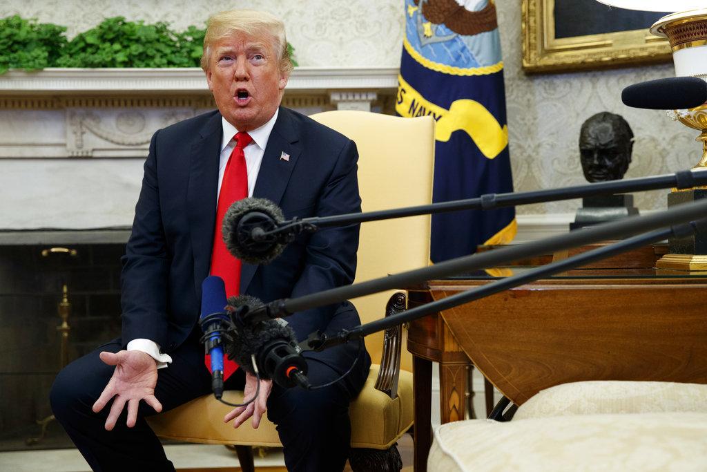 Trump tells Kim Jong Un to denuclearize or risk overthrow