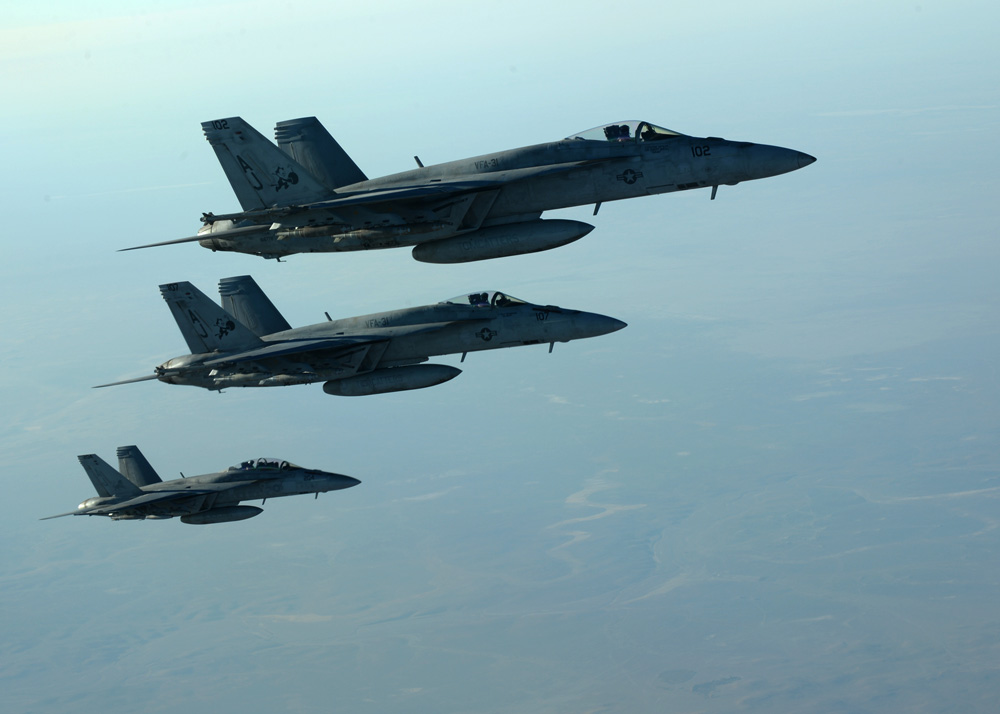 More than 90 airstrikes pummel last ISIS stronghold in Syria