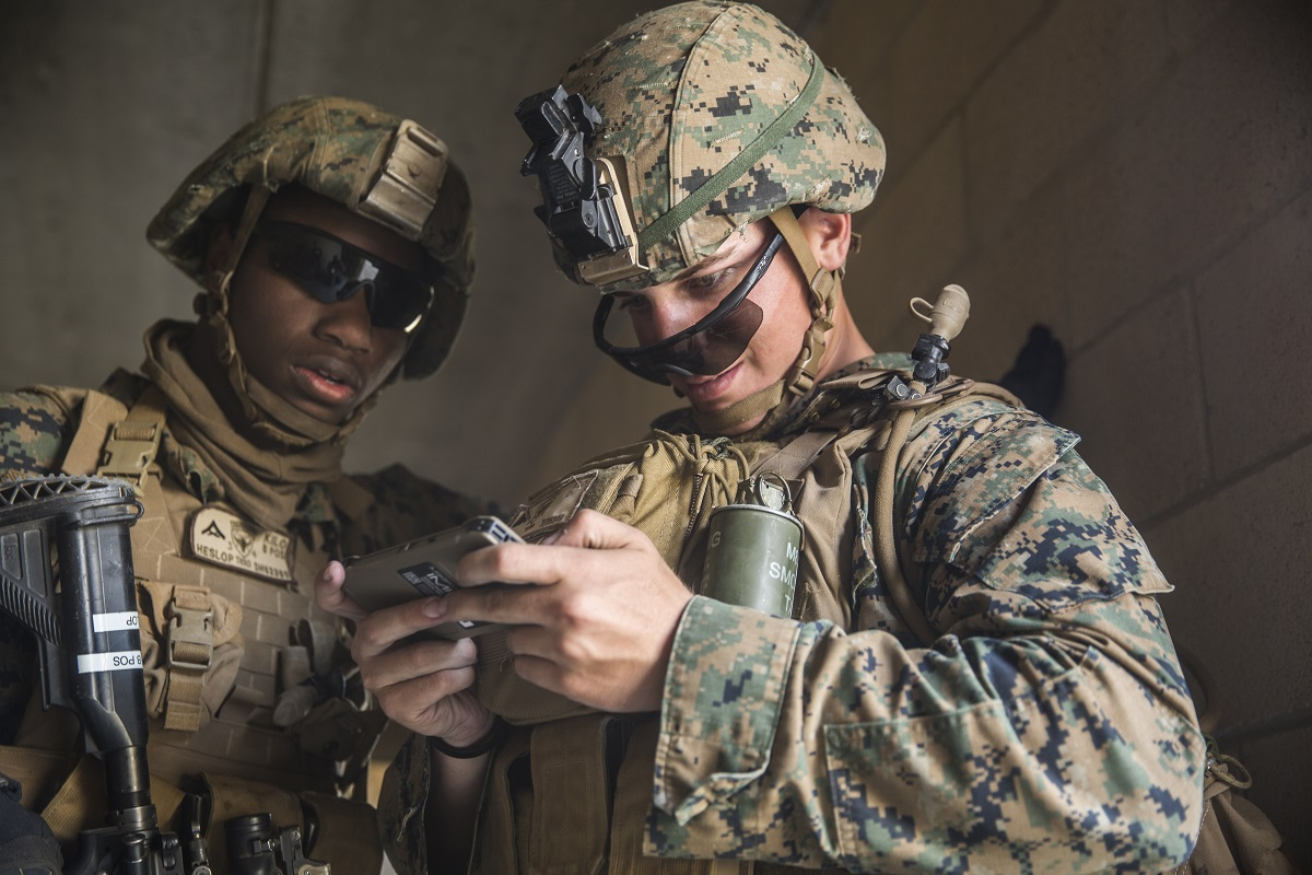 Popular games deserve scrutiny because they can unconsciously shape the understanding of the conflicts they simulate. (Lance Cpl. Robert Alejandre/Marine Corps)