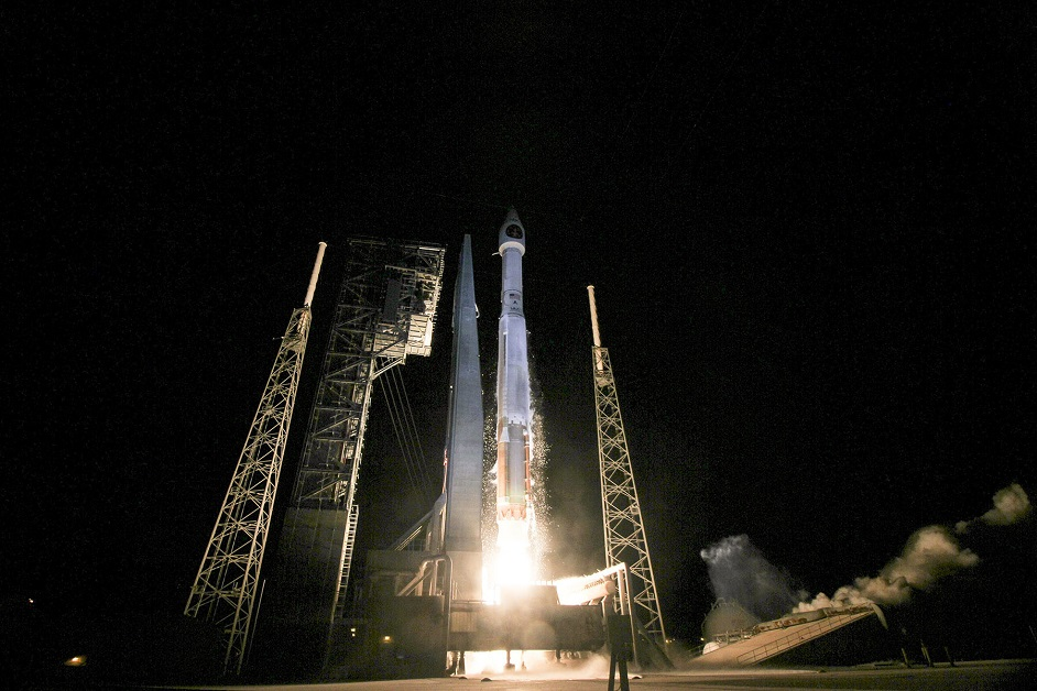 The U.S. Air Force's 45th Space Wing supported United Launch Alliance's successful launch of the third Space Based Infrared Systems Geosynchronous Earth Orbit spacecraft aboard an Atlas V rocket. (U.S. Air Force)
