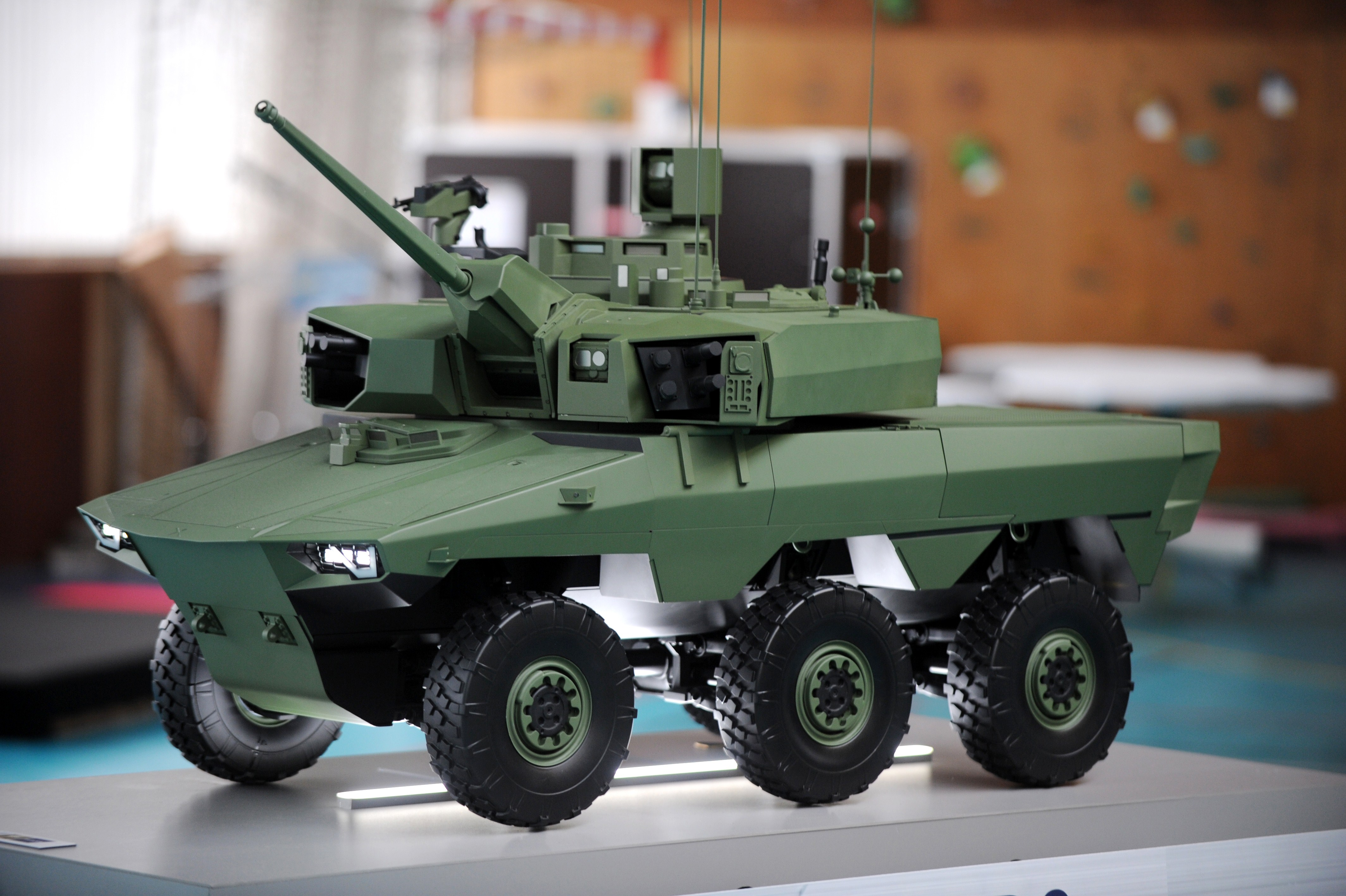 Nexter secures bulk of work in new French military vehicle order