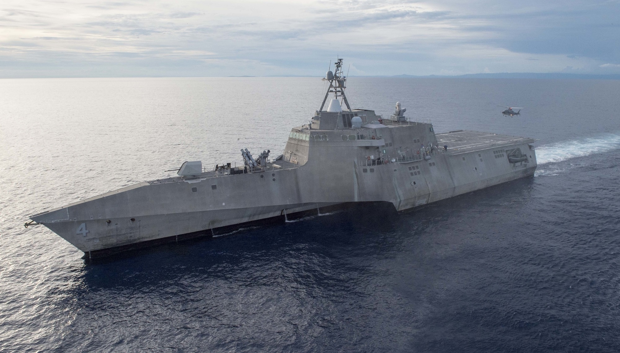Life support: The Navy's struggle to define an LCS bare minimum