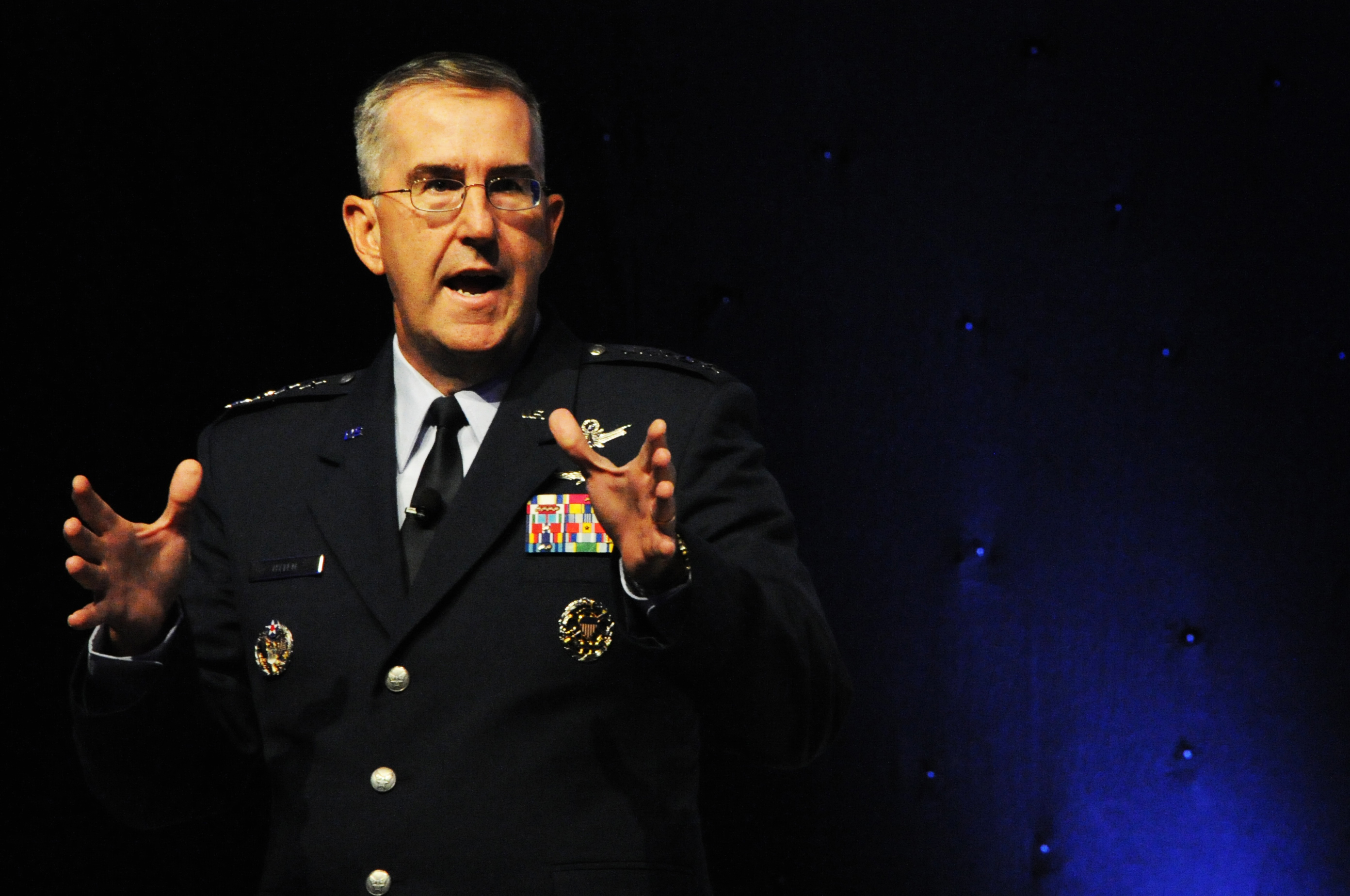 STRATCOM head would push back on illegal nuclear launch order
