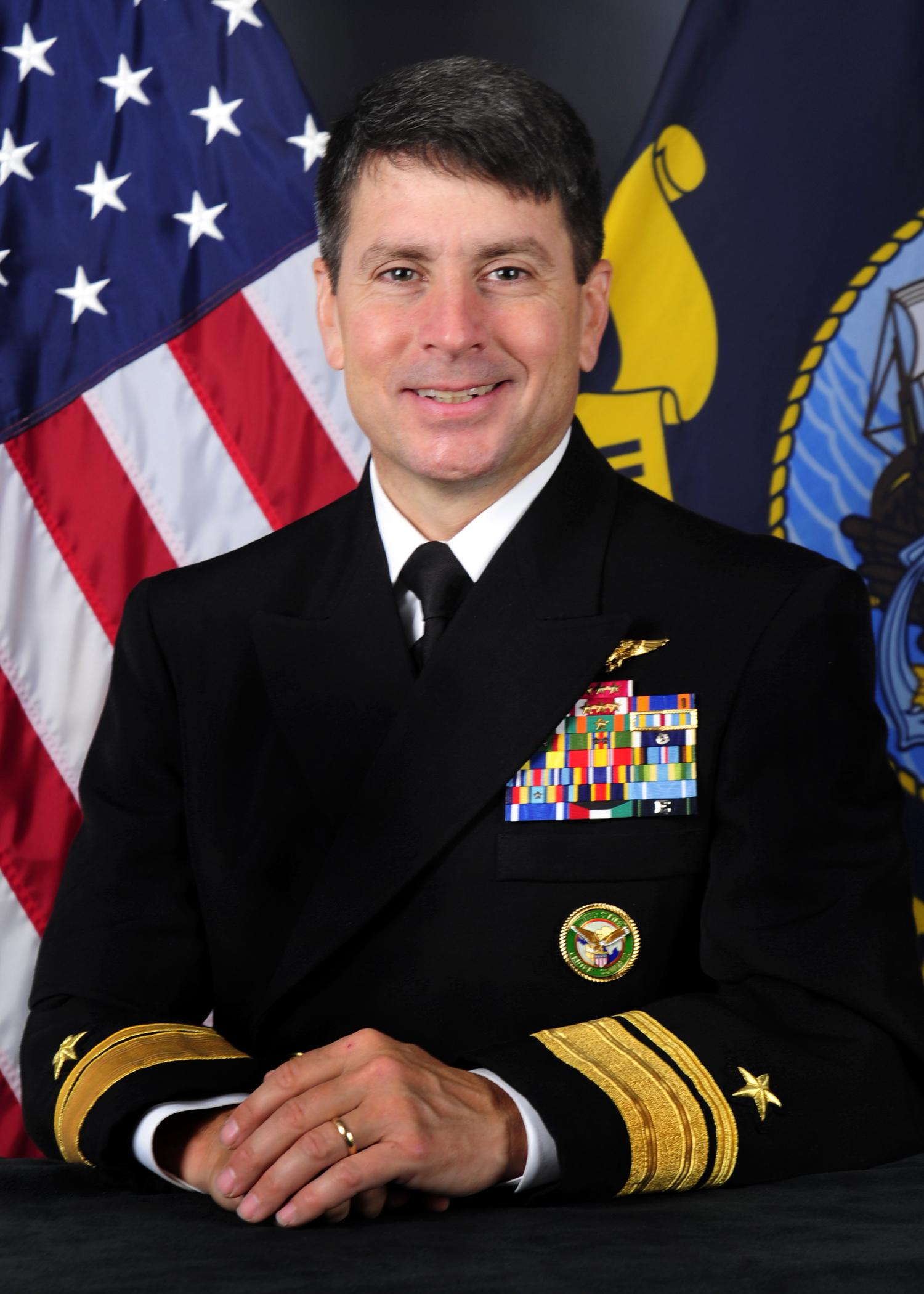 Former Fighter Pilot Nominated For 5th Fleet Boss