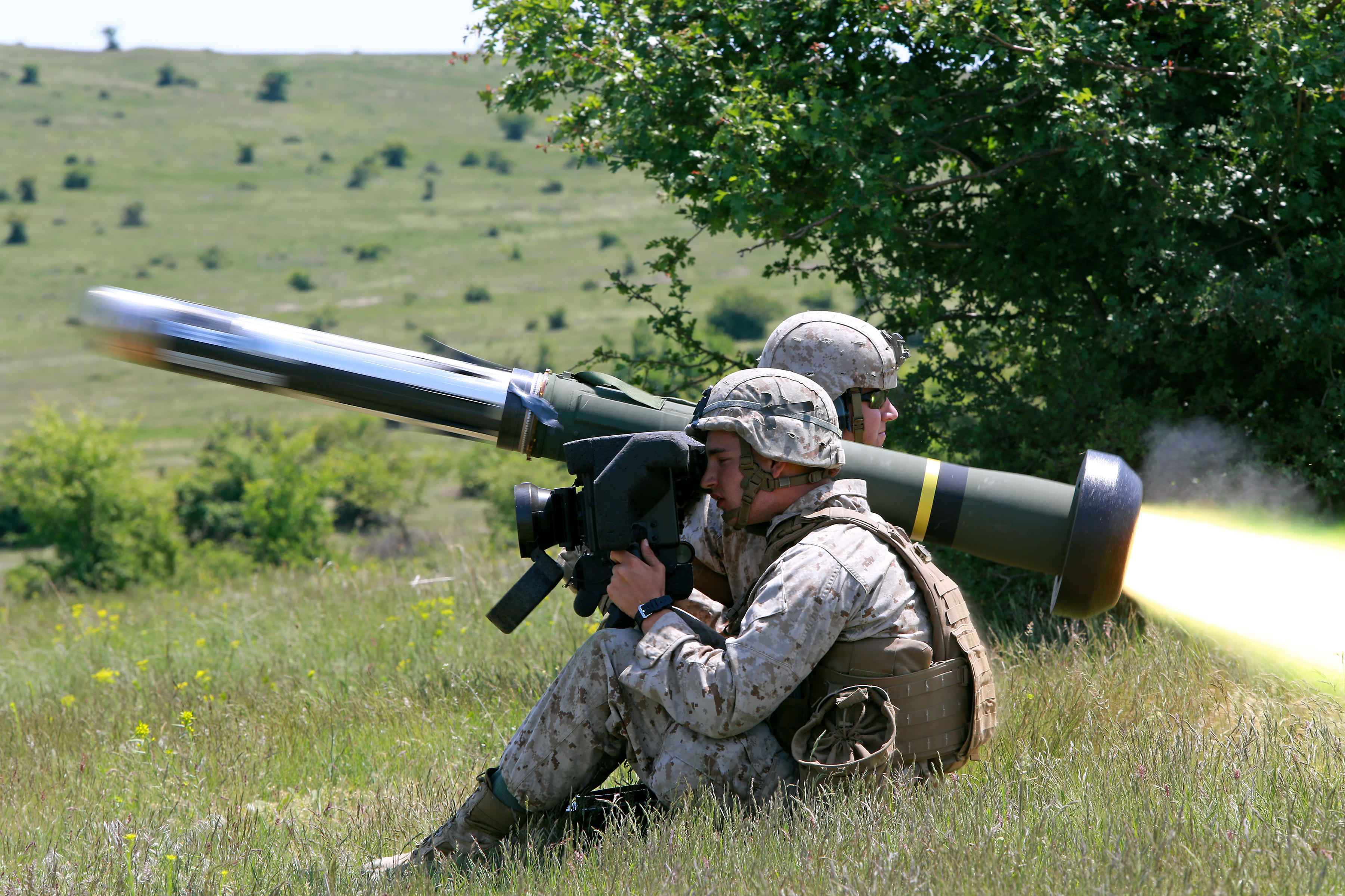 Ukraine officially cleared to buy Javelin weapons