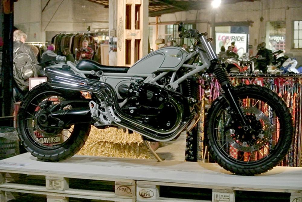 Heiwa Motorcycles' BMW R nineT. (Morgan Gales)