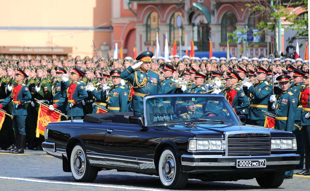 The commander of the Victory Day parade is the commander in chief of the Ground Forces, Col.-Gen. Oleg Salyukov. (Russian Presidential Press and Information Office)