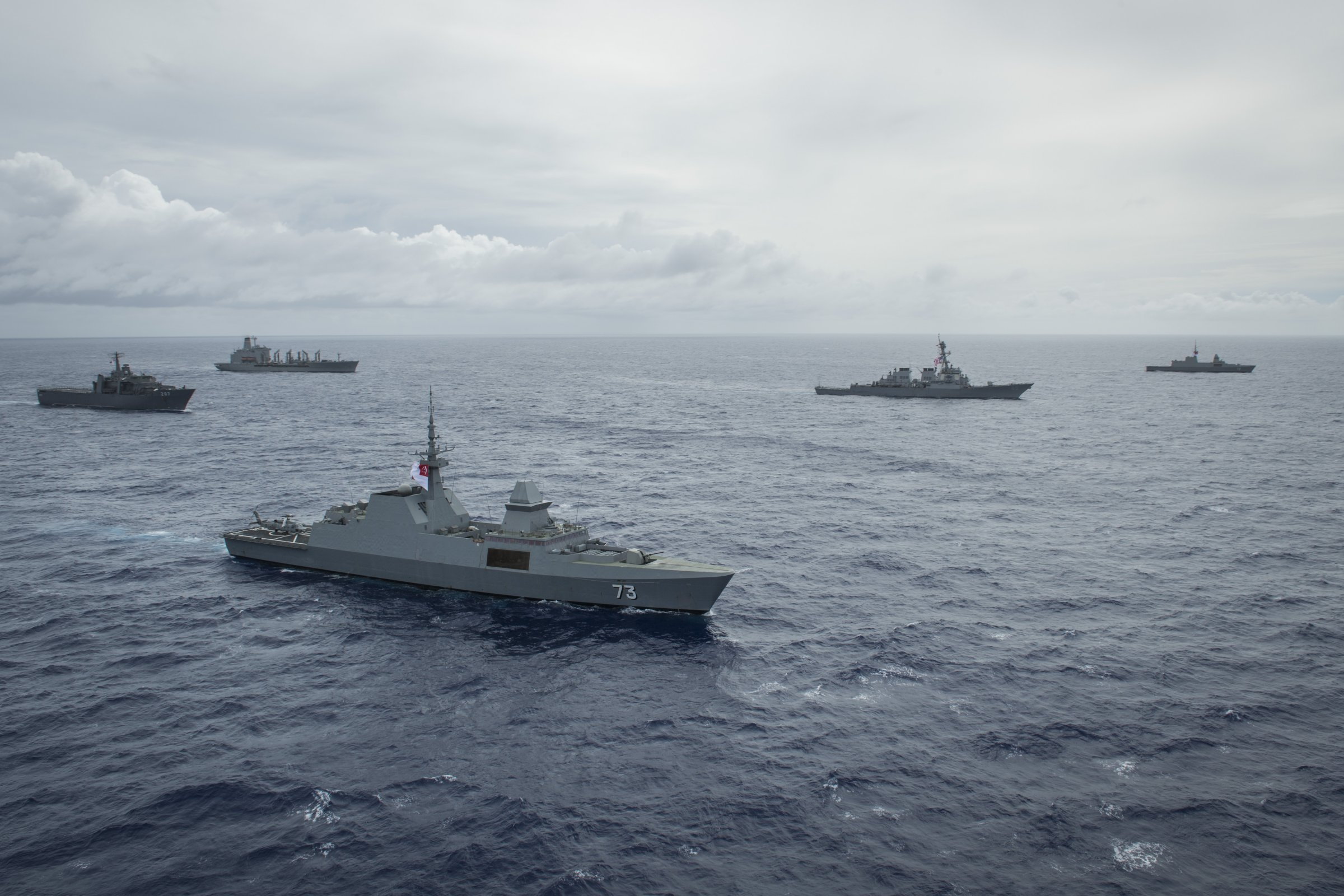 Singapore wraps up first-ever naval exercise with US off Guam